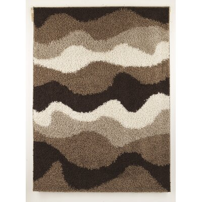 Java Striped Shag Rug