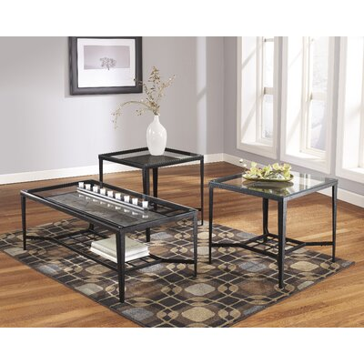 Alexandra 3 Piece Coffee Table Set
