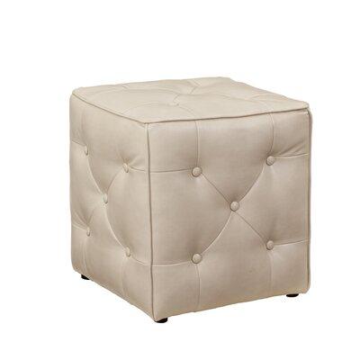 Jive Ottoman Upholstery: Taupe