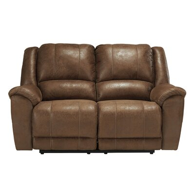 Niarobi Reclining Sofa Upholstery: Saddle