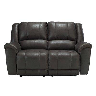 Niarobi Reclining Sofa Upholstery: Alloy
