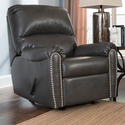 Hartshorne Manual Rocker Recliner Upholstery: Slate