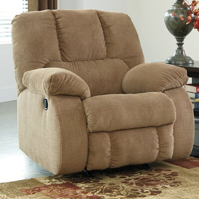 Roan Manual Rocker Recliner Upholstery: Mocha