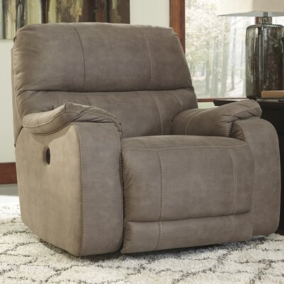 Bohannon Power Rocker Recliner Upholstery: Taupe
