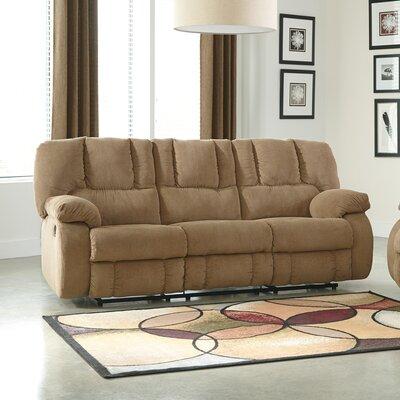 Roan Reclining Sofa Upholstery: Mocha