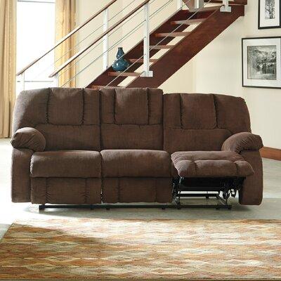 Roan Reclining Sofa Upholstery: Cocoa