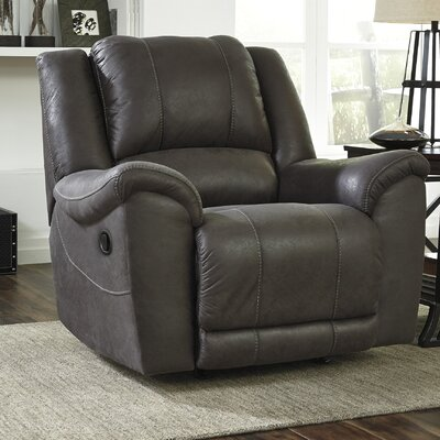 Niarobi Rocker Recliner Upholstery: Alloy
