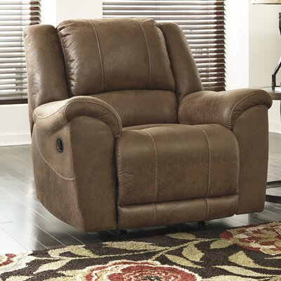Niarobi Rocker Recliner Upholstery: Saddle