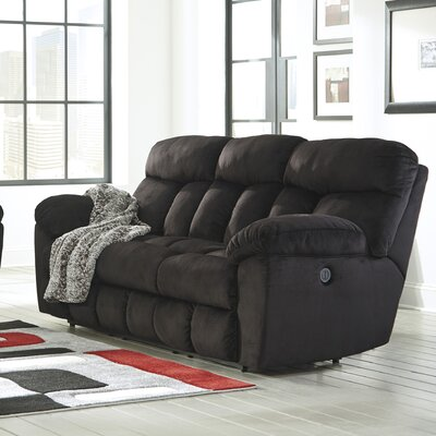 Saul Reclining Sofa Type: Power