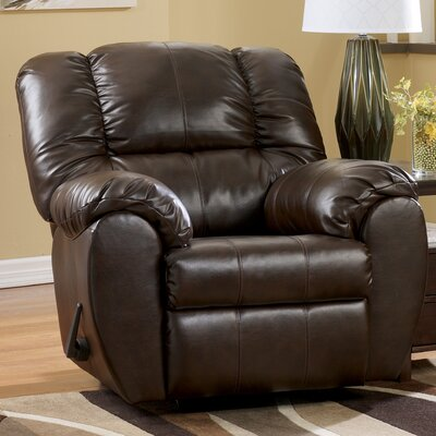 Jack Chaise Rocker Recliner Upholstery: Espresso