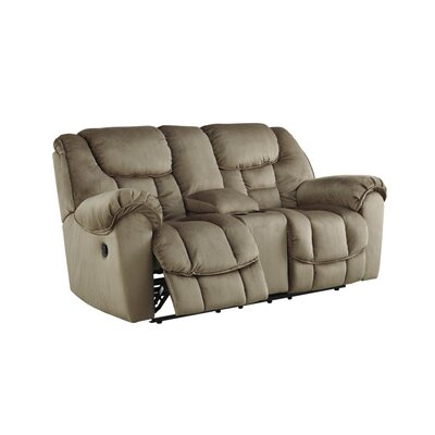 3660143 GNT8247 Signature Design by Ashley Glider Reclining Loveseat with Console