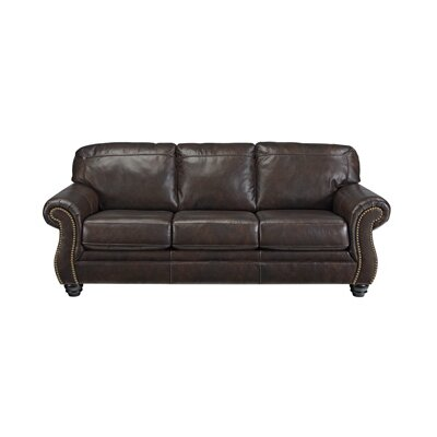 8220238 GNT8443 Signature Design by Ashley Bristan Leather Sofa