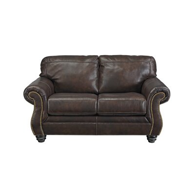 8220235 GNT8442 Signature Design by Ashley Bristan Leather Loveseat