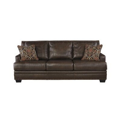 Signature Design by Ashley 6910338 Corvan Leather Sofa