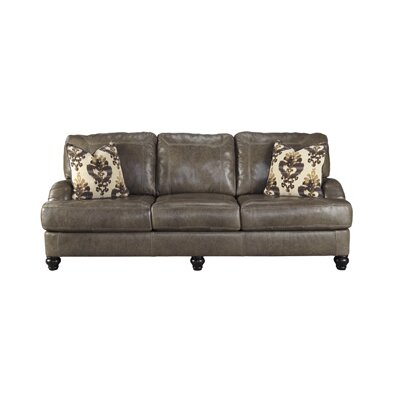 Signature Design by Ashley 8040238 Kannerdy Leather Sofa