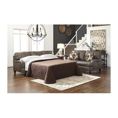 Signature Design by Ashley 8040239 Kannerdy Queen Leather Sleeper Sofa