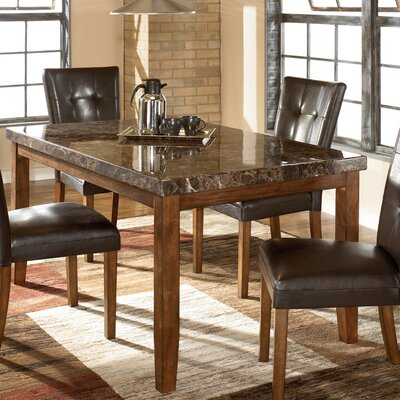 Signature Design by Ashley Viola Rectangular Dining Table in Brown (GNT1726)