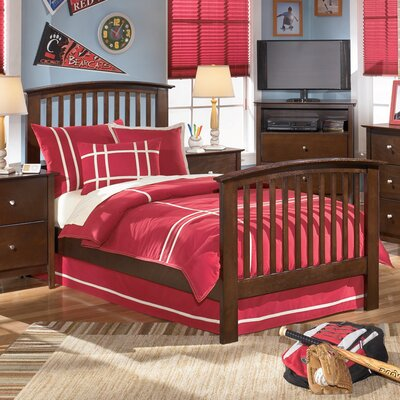 Cheap Addison Panel Bed in Brown (GNT1660)