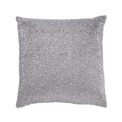 Bowker Throw Pillow Color: Silver