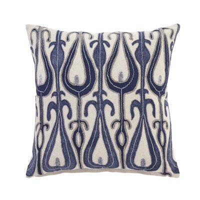 Calumet Pillow Cover Color: Blue