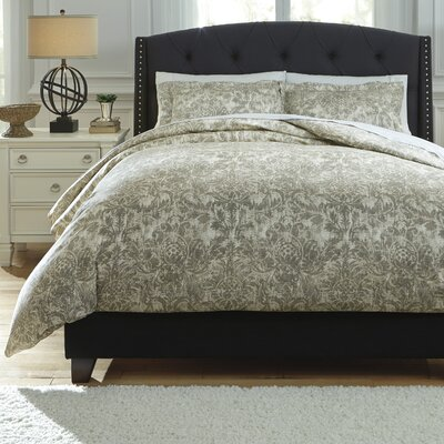 Kelby 3 Piece Duvet Cover Set Size: King