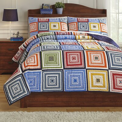 Tazzoni Coverlet Set Size: Twin