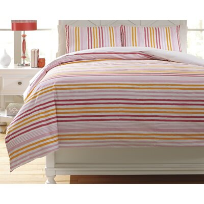 Genista Duvet Cover Set Size: Twin