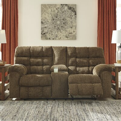 4820094 GNT9575 Signature Design by Ashley Antwan Truffle Reclining Loveseat