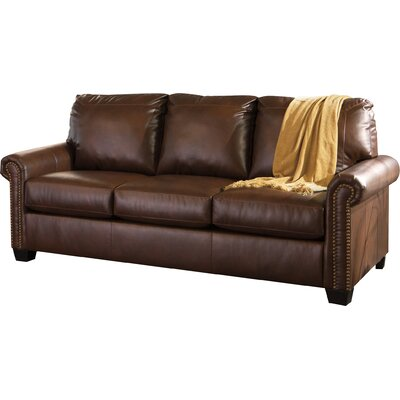 Signature Design by Ashley 3800039 Lottie DuraBlend Queen Sleeper Sofa in Chocolate
