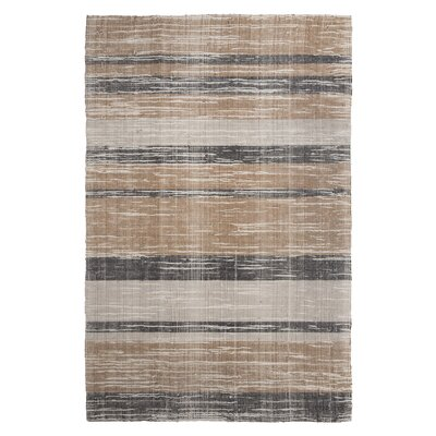 Menderd Hand-Woven Brown/Gray Area Rug Rug Size: Rectangle 8 x 10