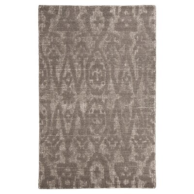 Finney Hand-Woven Wool Brown Area Rug Rug Size: Rectangle 8 x 10