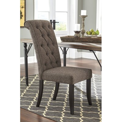 Carville Tufted Side Chair (Set of 2) Upholstery: Graphite