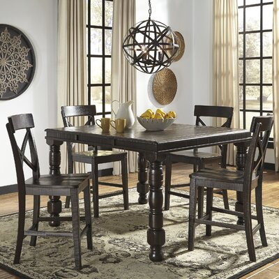 Gerlane Counter Height Extendable Dining Table