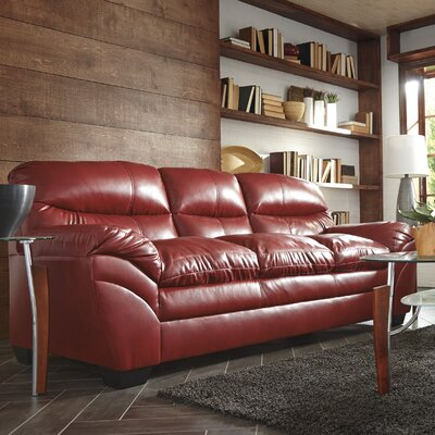 Magan Sofa Upholstery: Crimson