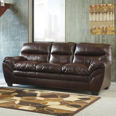 Tassler Sofa Upholstery: Mahogany