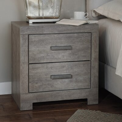 Culverbach 2 Drawer Nightstand