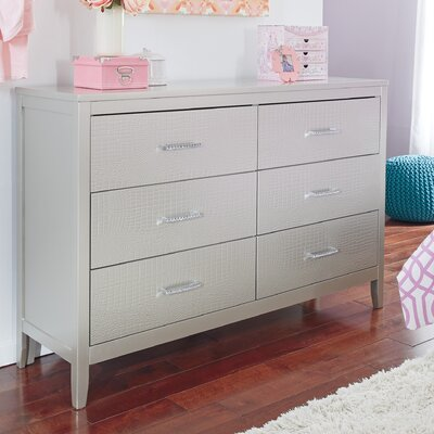 Olivet 6 Drawer Double Dresser