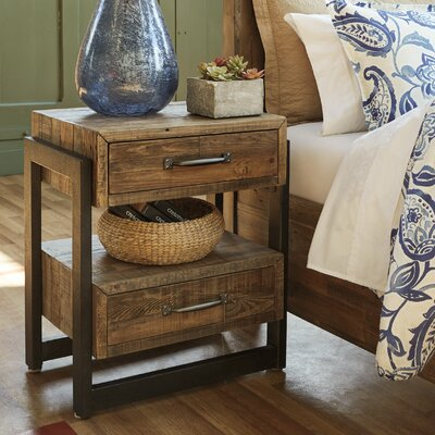 Sommerfeld 2 Drawer Nightstand