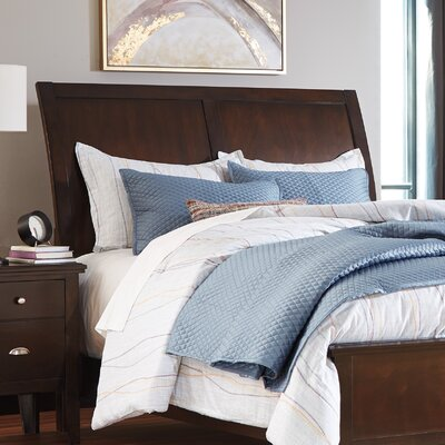 Evanburg Sleigh Headboard Size: King/California King