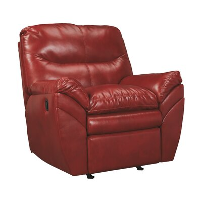 Magan Rocker Recliner Upholstery: Crimson