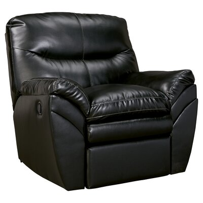 Magan Rocker Recliner Upholstery: Black