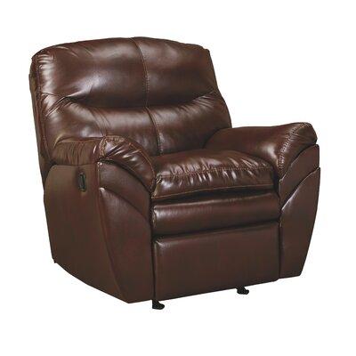 Magan Rocker Recliner Upholstery: Mahogany