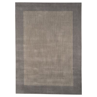 Bartholomew Hand-Loomed Gray Area Rug Rug Size: 5 x 8