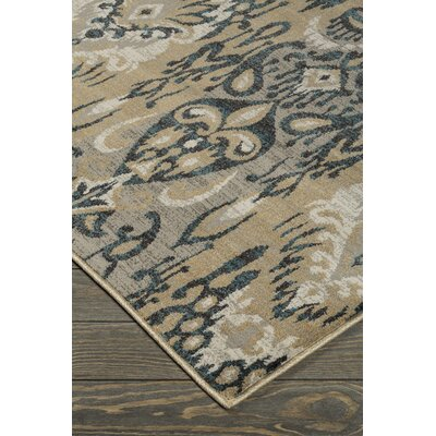 Cassville Green/Gray Area Rug Rug Size: 5 x 7