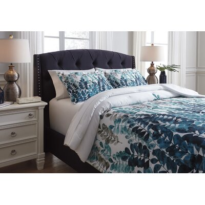 Canonsburg 3 Piece Comforter Set Size: King