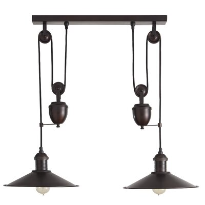 Lita 2-Light Kitchen Island Pendant