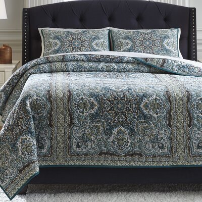 Faulkner 3 Piece Quilt Set Size: Queen