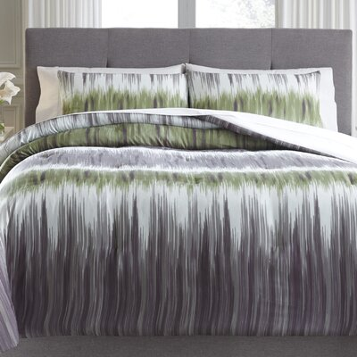 Cortland 3 Piece Comforter Set Size: Queen