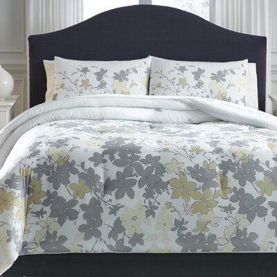 Brockway 3 Piece Comforter Set Size: Queen