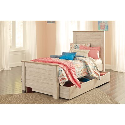 Algere Storage Panel Bed